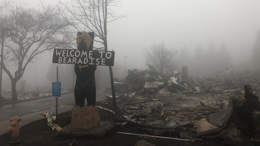 The Camp Fire started on Nov. 8 near the city of Paradise and rapidly overwhelmed the area. The city is still closed off to the public, and nearly 500 people remain missing in the region.