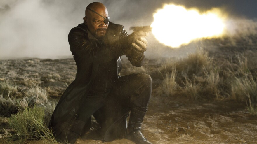 Gun violence has become increasingly common in PG-13 movies like <em>The Avengers</em><em>, </em>released in 2012.