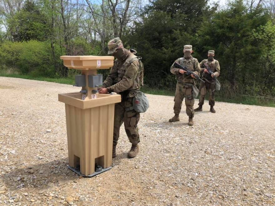 Provided photo from Fort Leonard Wood, taken April 2020