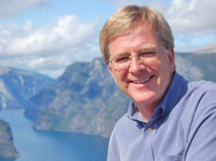 Rick Steves in Sognefjord, Norway.