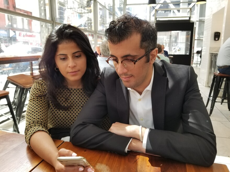 Lina and Walid Alhathloul, sister and brother of jailed Saudi activist Loujain Alhathloul, have had a busy schedule in the United States raising awareness about their sister's plight.