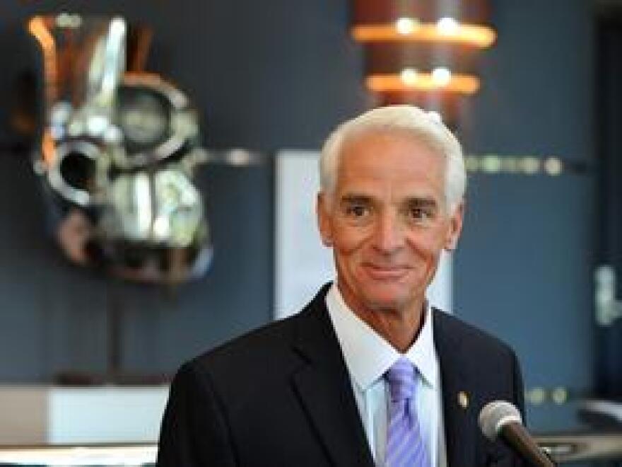 Former Florida Gov. Charlie Crist of St. Petersburg