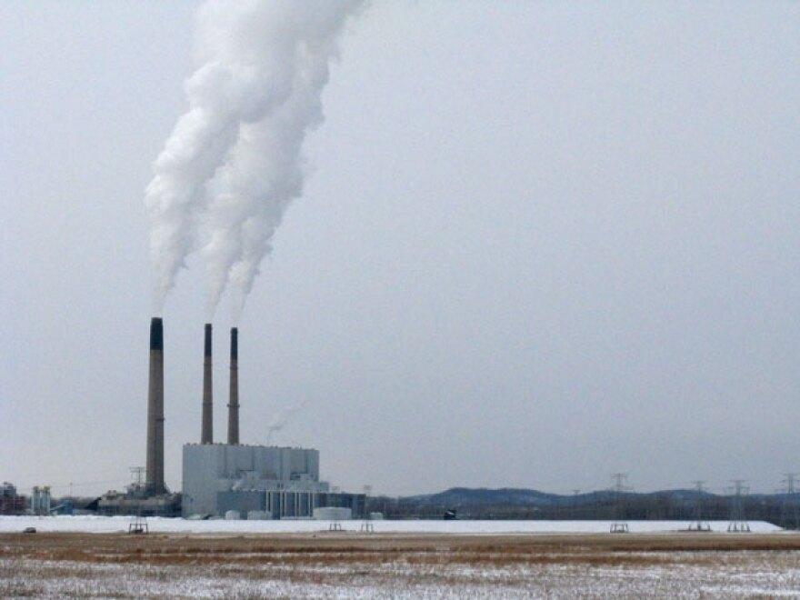 Ameren Missouri's largest coal-fired power plant in Labadie, Missouri.