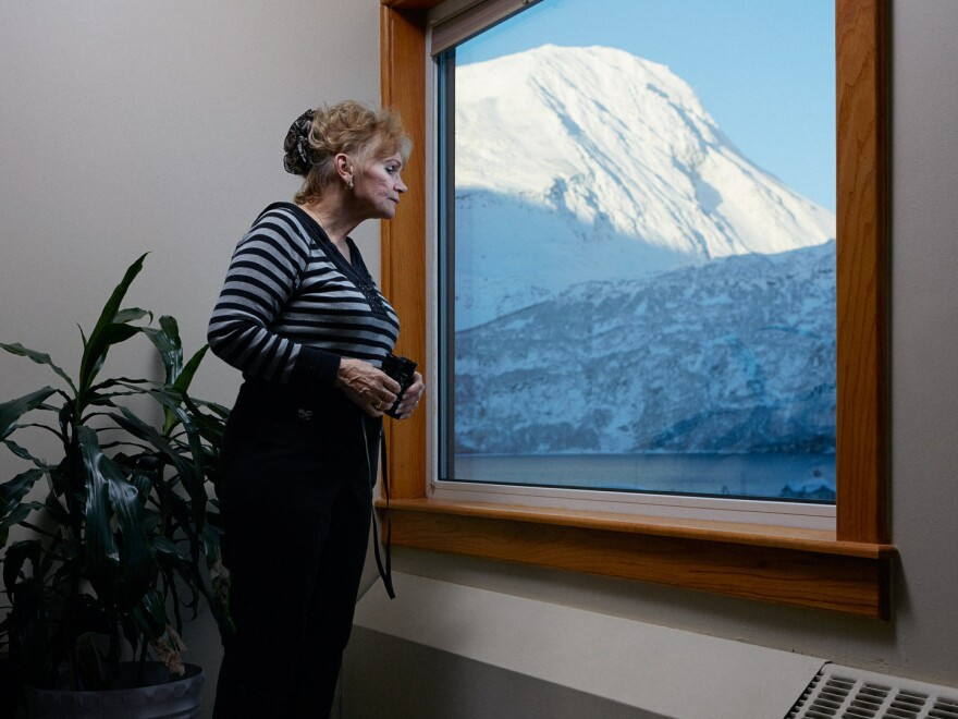 June Miller has a bed and breakfast on the top two floors of Begich Towers called June's Whittier Condo Suites.