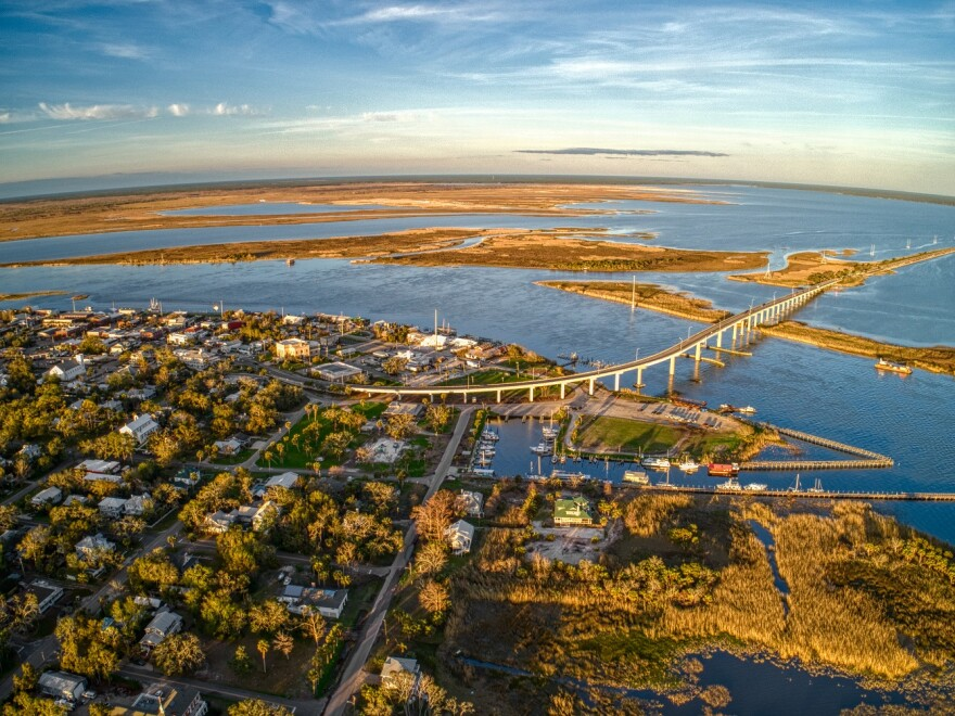 Apalachicola is a small Coastal Community on the Gulf of Mexico in Florida's Panhandle