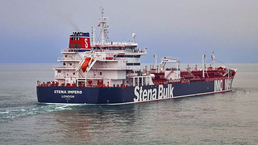 Iranian officials are defending the seizure of British-flagged tanker Stena Impero in the Strait of Hormuz near Iran's coast on Friday.