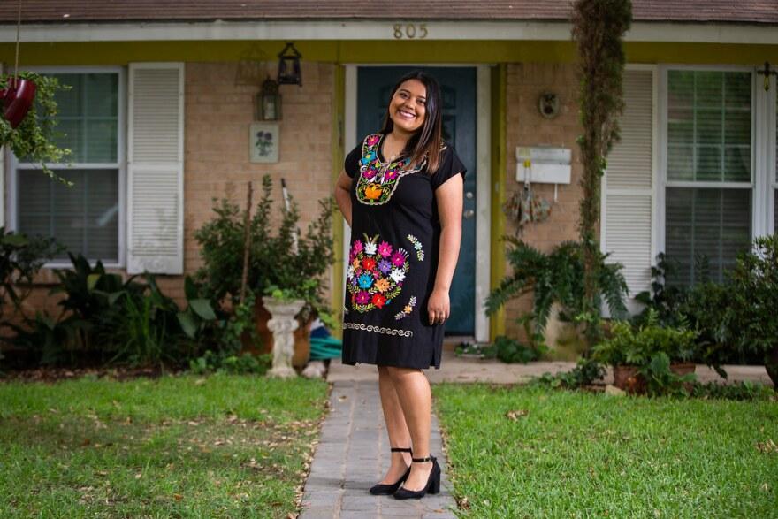 Chantal Flores-Malagon is graduating from Crockett High School.