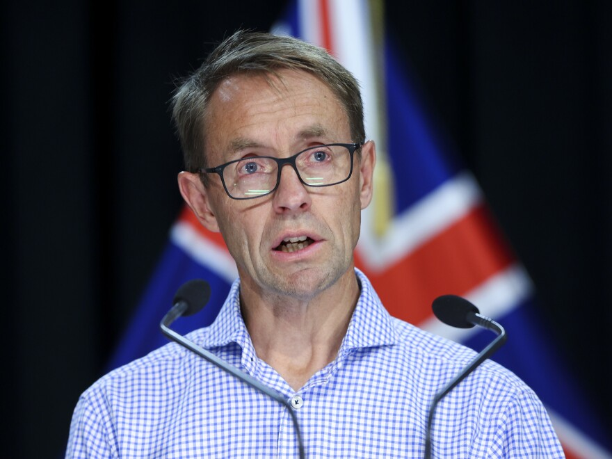 """This is a reminder to all of us that the pandemic continues and that this is a tricky virus,"" New Zealand Director-General of Health Ashley Bloomfield said Sunday."