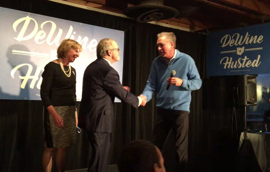 Photo of Mike DeWine and Gov. John Kasich