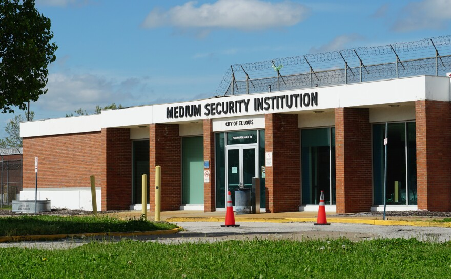 The Medium Security Institution, also known as the Workhouse, in St. Louis.