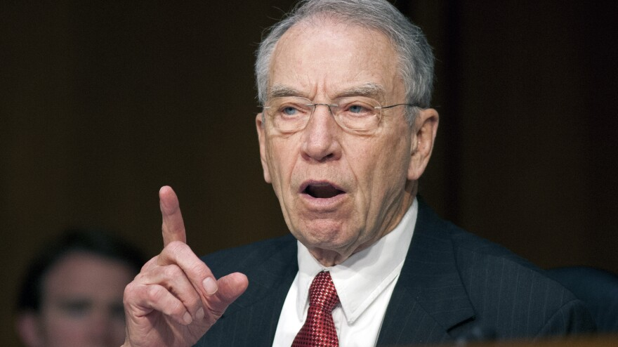 Sen. Charles Grassley, R-Iowa, has proposed cutting three seats from a key D.C. appeals court.