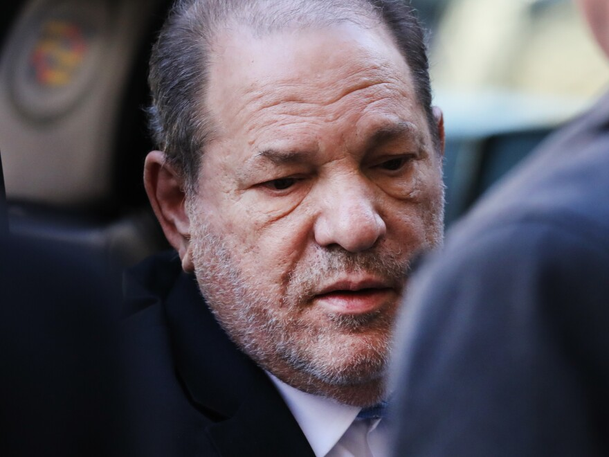 Harvey Weinstein at his New York trial in February 2020.