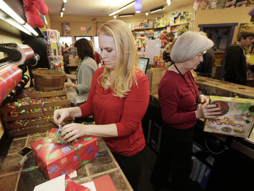 Retailers expect to hire hundreds of thousands of extra holiday workers this year, but the hours can be scarce — and unpredictable.