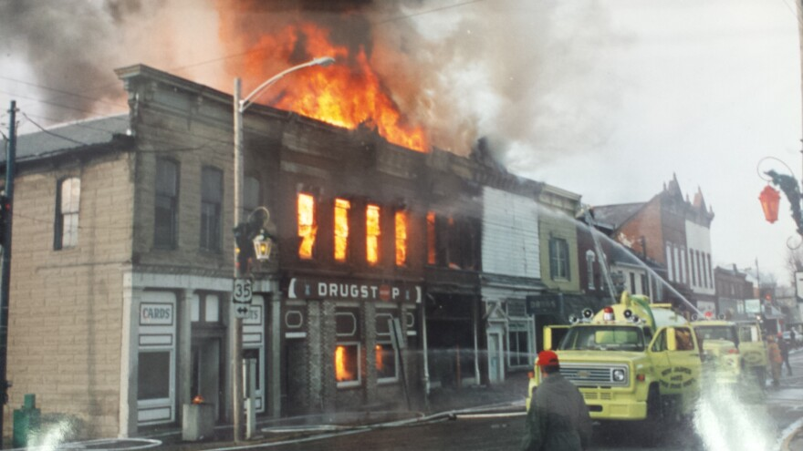 Jamestown is still feeling the economic effects of several downtown fires in the 1990s.
