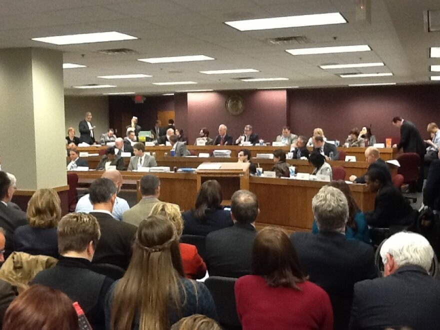 3-13-2014,_Mo._House_budget_cmte._works_on_state_budget.JPG
