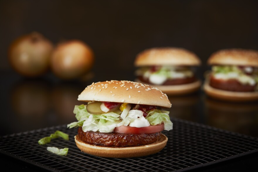Sales of McDonald's new soy-based patty have far surpassed estimates in Sweden, where half the population says it's interested in more vegetarian options. Are diners just curious or truly lovin' it?