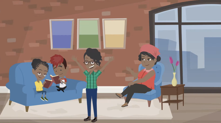 Screenshot of a video from the Behavior Response Support Team.
