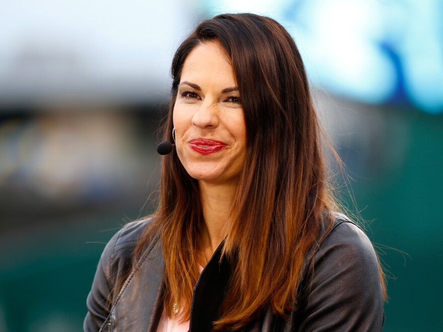 Analyst and former Olympic softball player Jessica Mendoza will be a full-time fixture in the broadcast booth during ESPN's <em>Sunday Night Baseball</em> this season.