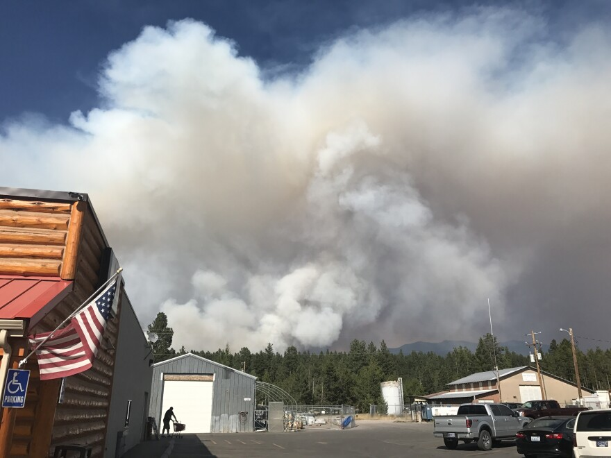 Smoke from three wildfires inundated the town of Seeley Lake, Mont., for six weeks in 2017.