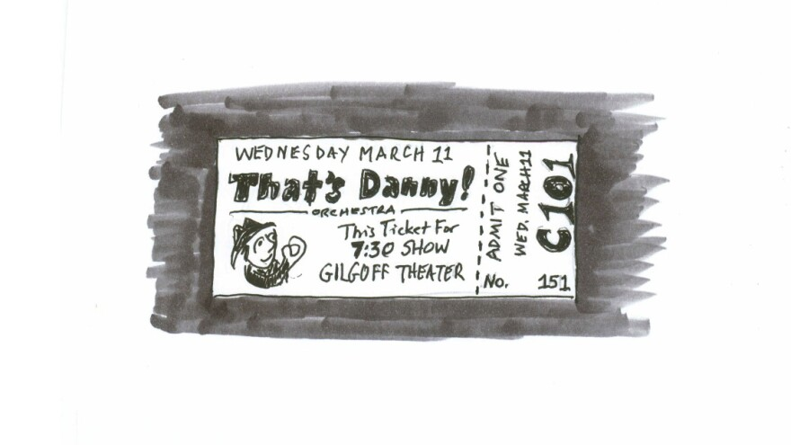My theater ticket.