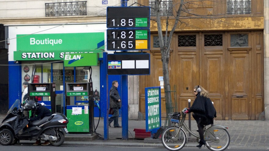 In France Drivers Face Gas Prices Of 8 A Gallon Kera News