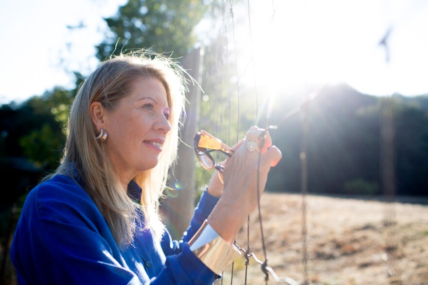 Isabella Beukes, of Santa Rosa, Calif., has been legally blind for more than 40 years. An experimental treatment derived from embryonic stem cells seems to have enabled her now to see not just color but also some shapes.