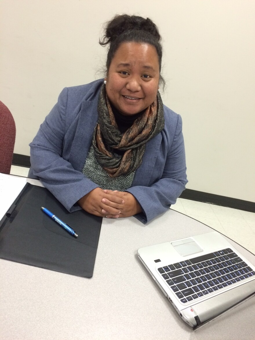 Melisa Laelan contracted the mumps virus last November. She's executive director of the Arkansas Coalition for Marshallese, based in Springdale, and also serves on the Arkansas Minority Health Commission