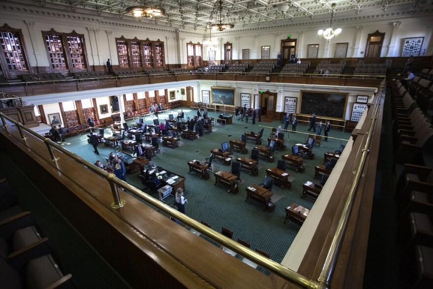 the texas senate chamber