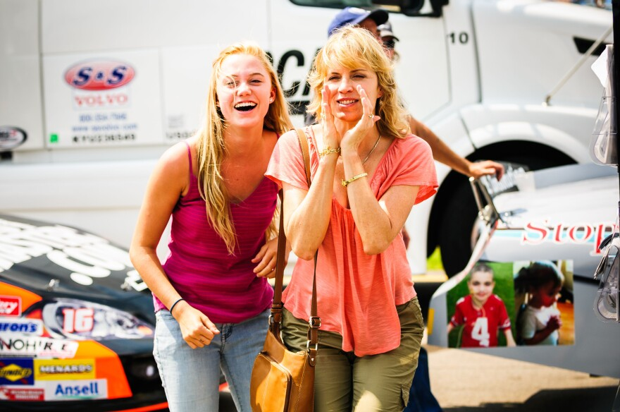 Dean's desire to be a professional NASCAR driver divides his family and wins the support of his girlfriend, Cadence (Maika Monroe), and mother, Irene (Kim Dickens).
