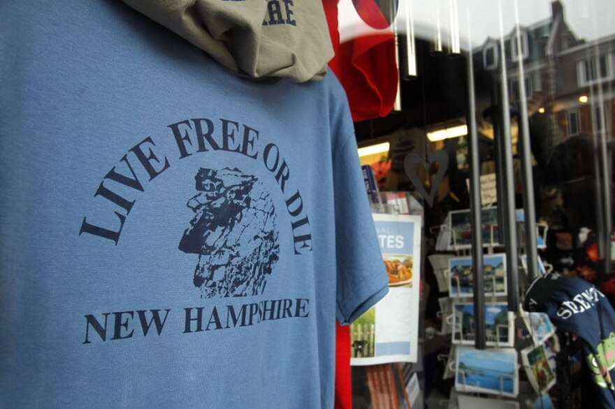 "In New Hampshire, you are expected to think for yourself and live up to the state's motto, ""Live Free or Die."""