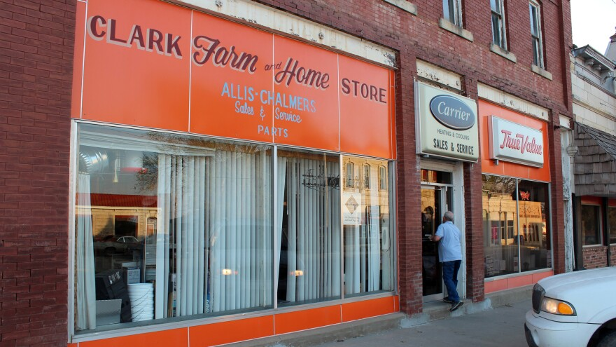 Customers come to the Clark Farm and Home Store in Strong City for everything from Scotch tape to tractor parts. They regularly swap stories about government waste.