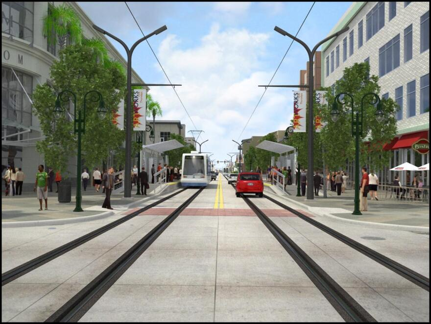 wave streetcar project