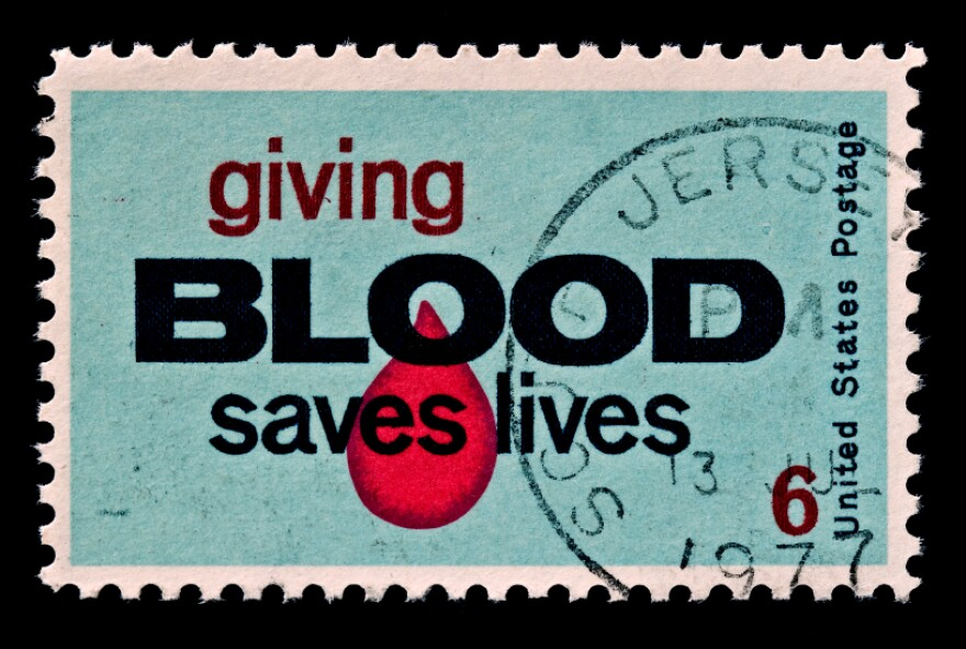 A stamp can build awareness, but broader use of incentives could help boost blood donations.