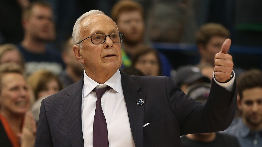 Head coach Larry Brown of the Southern Methodist Mustangs has been suspended for nine games for his role in violating NCAA rules.