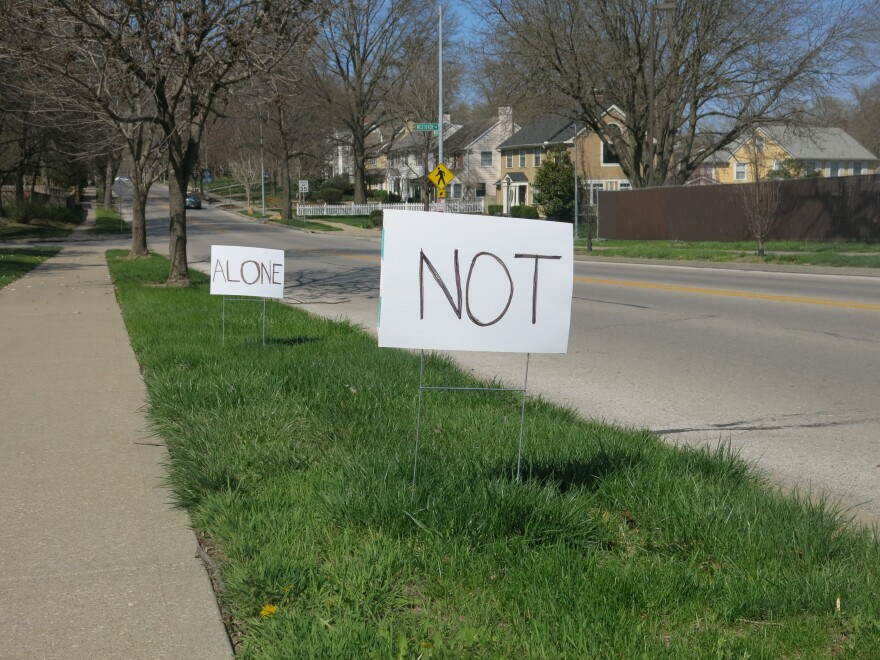 Signs Outside Country Club United Methodist Church
