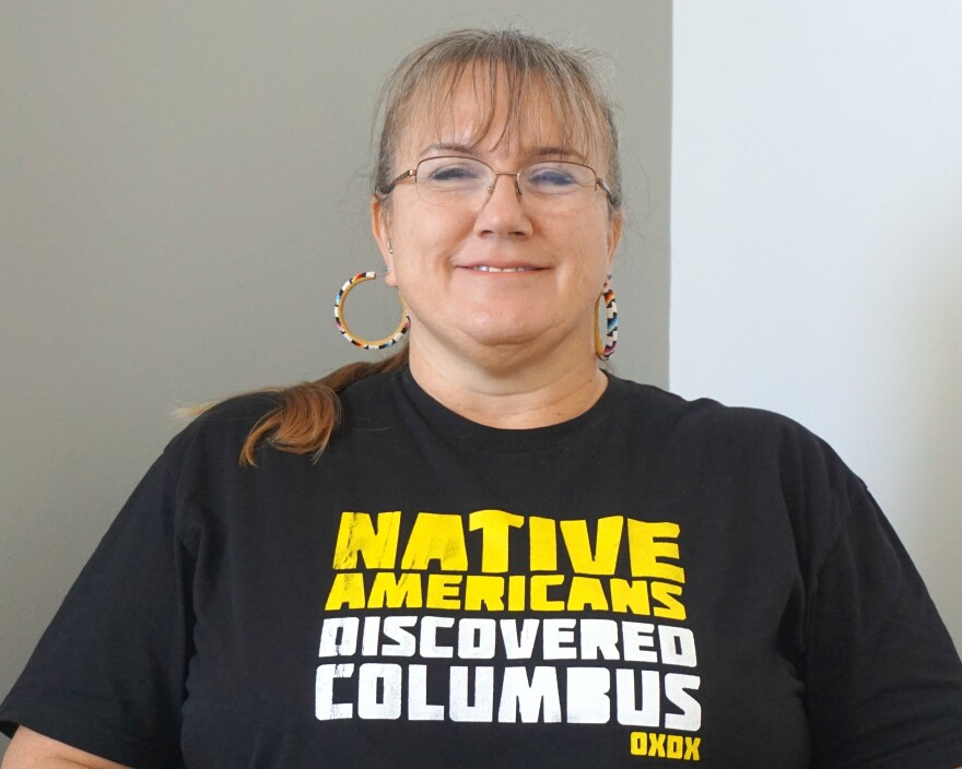 Suzanne Michelle White is a member of the Choctaw Tribe of Oklahoma and a descendant of Cherokee, Delaware, and Lumbee nations/tribes.