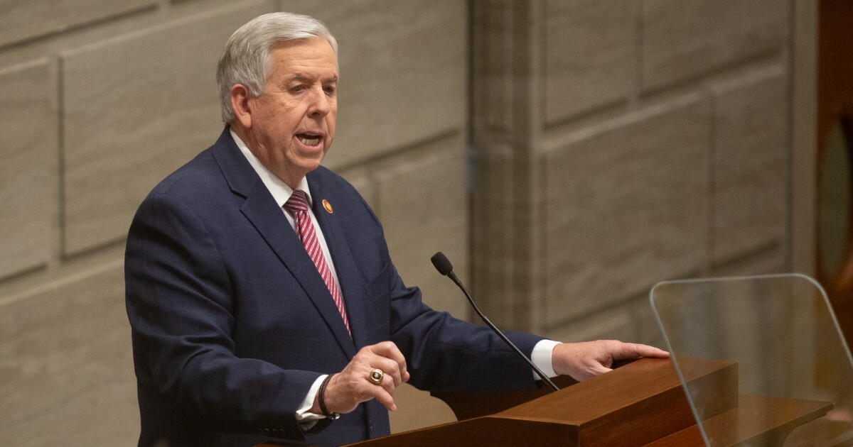 Parson Says Budget Will Be Cut If Medicaid Tax Isn't Passed
