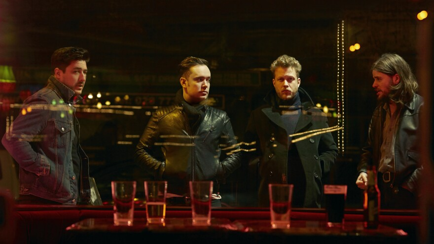 Mumford & Sons' electrified new album is called <em>Wilder Mind</em>.
