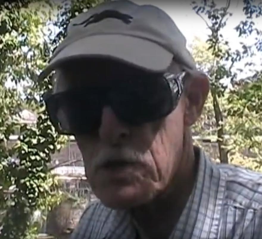 a screen shot of Walt Adams
