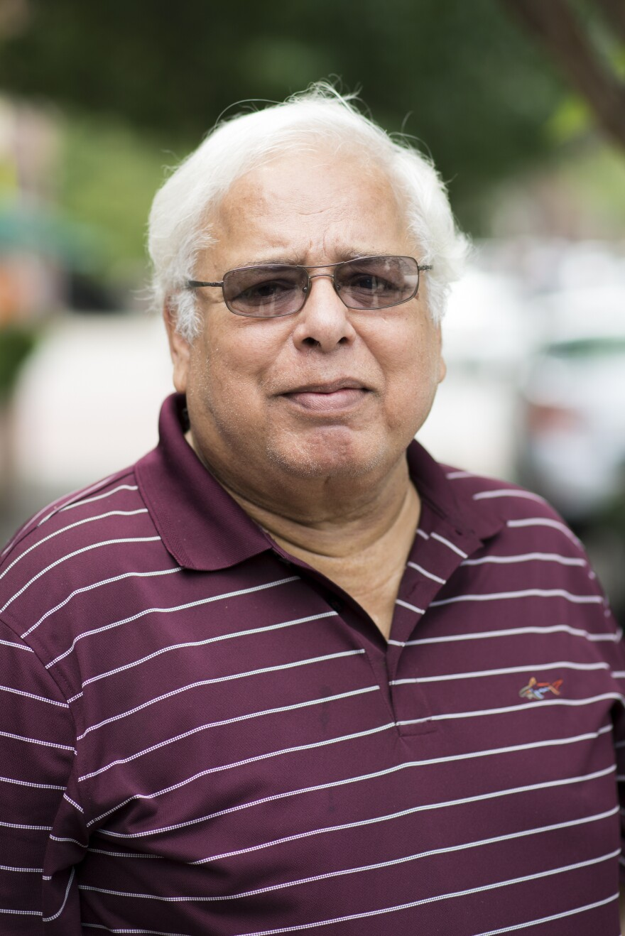 "Shafqat Khan was an organizer in the Pakistani immigrant community in New Jersey. He died of COVID on April 14, 2020. ""Every day is a milestone for me,"" says his daughter Sabila Khan."