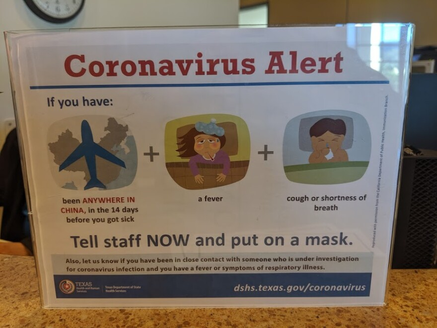 An alert for patients at the UT Health San Antonio Medical Arts and Research Center.