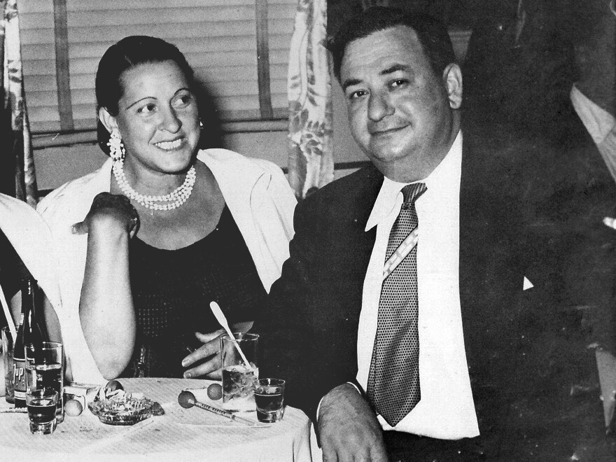 The author's grandparents, Russell and Mary Shorto, socialize at Club Harlem in Atlantic City, N.J., in the mid-1950s.