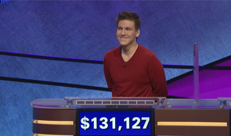 Professional sports gambler James Holzhauer won $131,127 during a <em>Jeopardy!</em> show that aired Wednesday night, breaking his previous record.