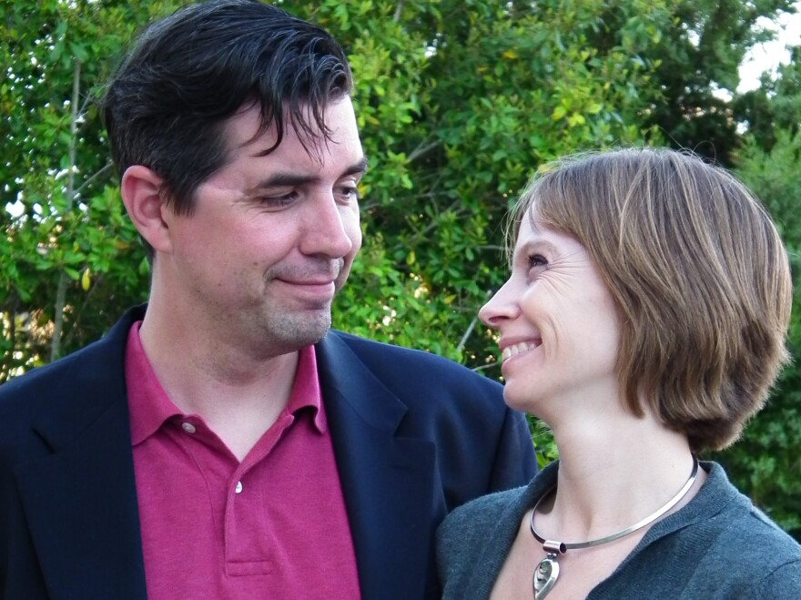 Brian McGough and Kayla Williams met in Iraq in 2003.