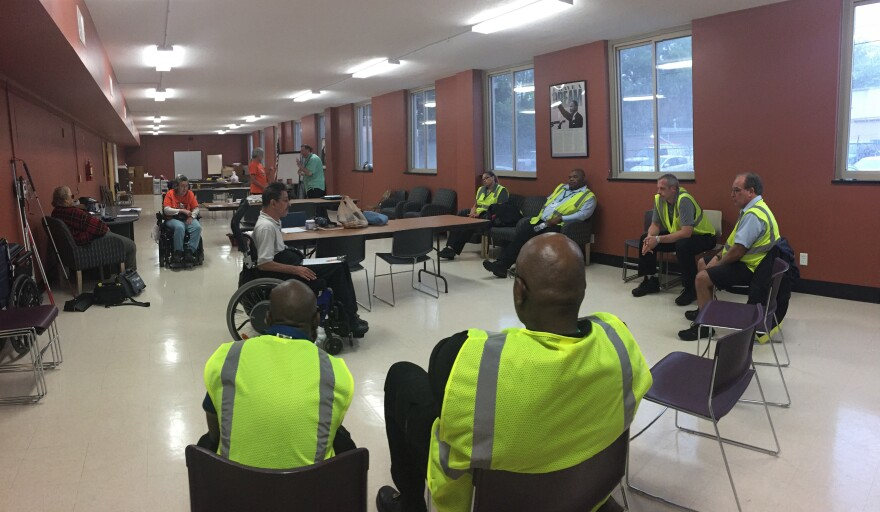 RTA bus drivers gather for a disabilities training at the Access for Independent Living in Dayton