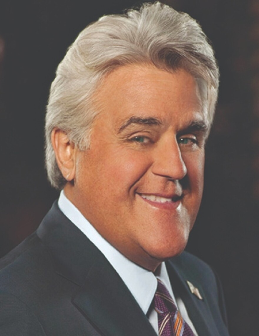 Comedian Jay Leno, who will be in St. Louis as part of the St. Louis Speakers Series.