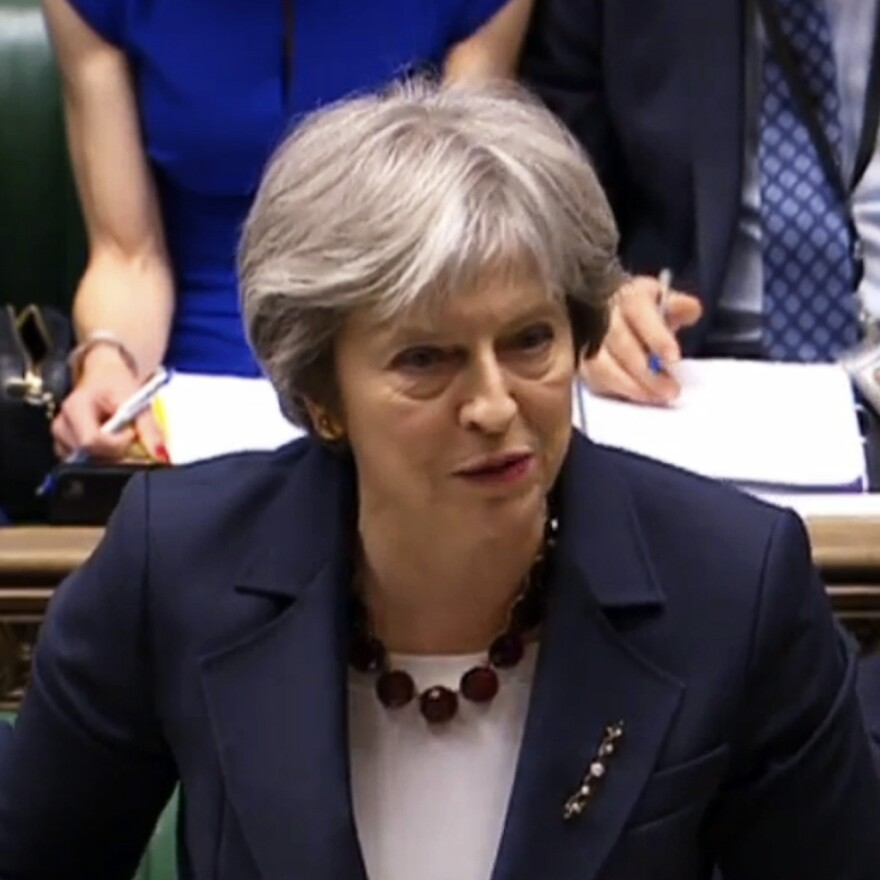 U.K. Prime Minister Theresa May has said Russia is guilty of attempted murder on British soil.