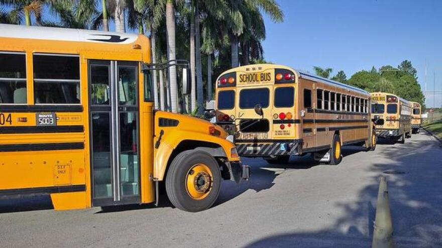 WLRN school bus