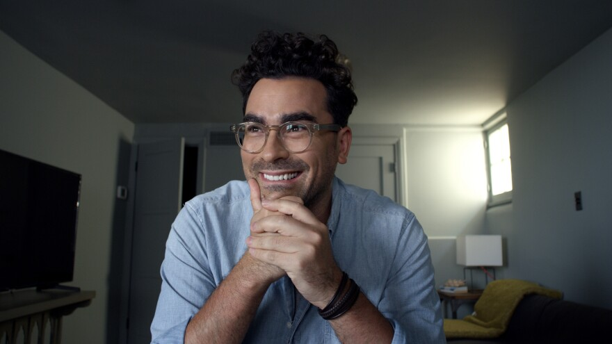 Dan Levy performs the most effective of the five monologues in HBO's <em>Coastal Elites</em>.