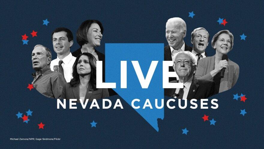 Live: Nevada Caucuses